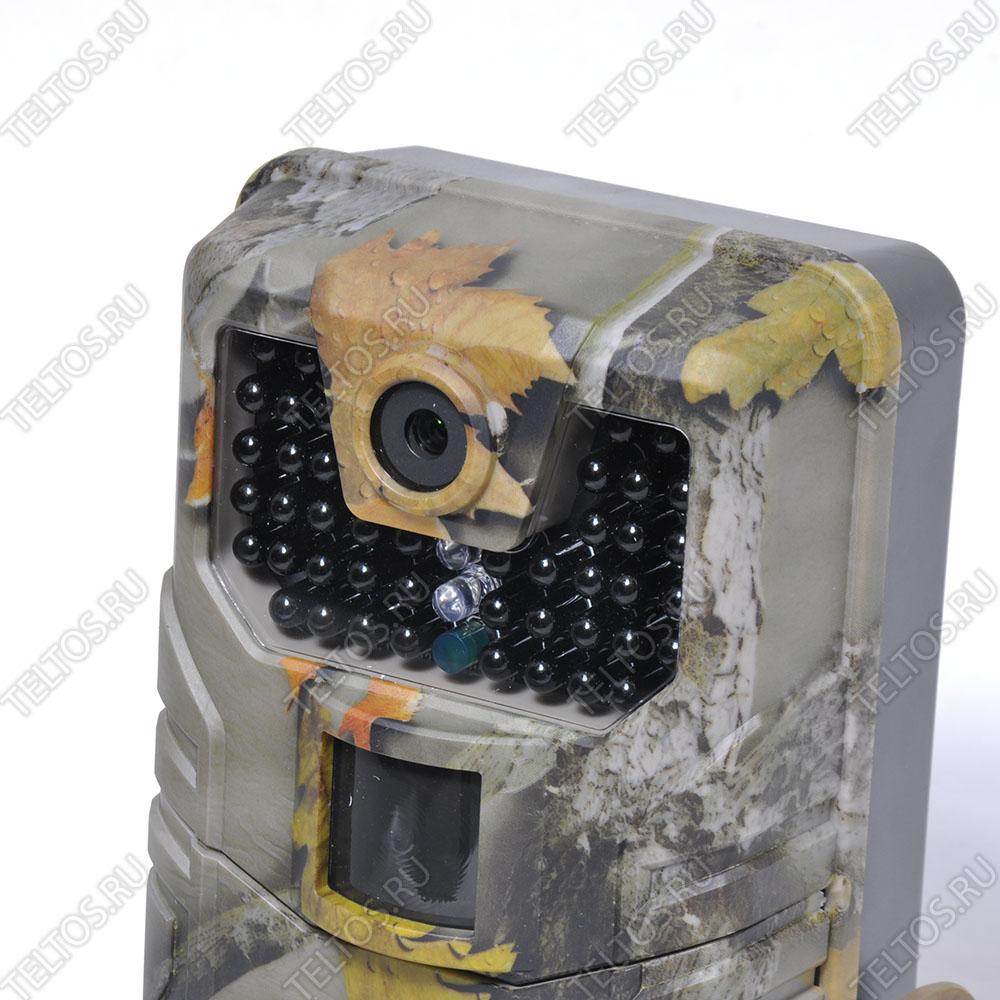 Камера и светодиоды фотоловушки Филин jet