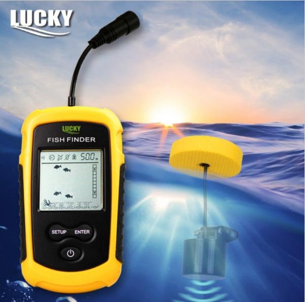 эхолот lucky fish finder ff1108-1