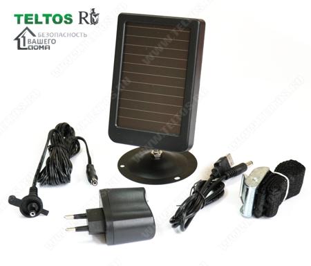 Комлектация солнечной панели для фотоловушек