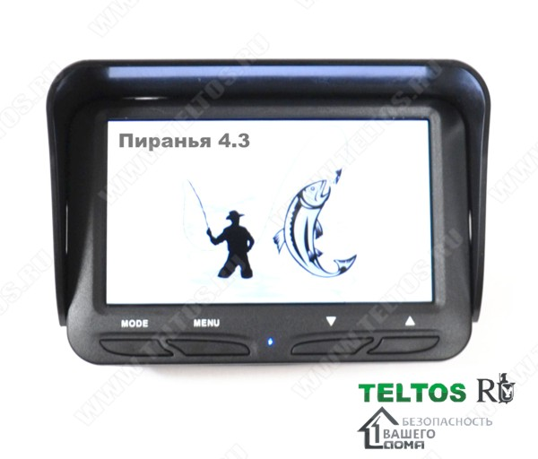 Камера для зимней рыбалки Пиранья 4.3